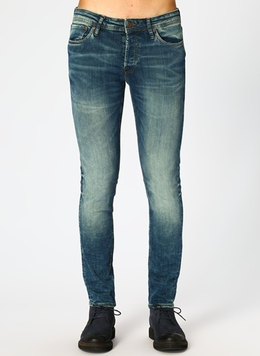 Jack & Jones Jack & Jones Glenn Original 081 Denim Pantolon Mavi